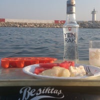 Photo taken at Küçük Liman İskele by Erhan C. on 7/30/2013