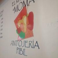 Photo taken at El Rincón De Moma by Moises on 10/5/2013