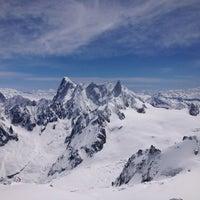 Photo taken at L'Aiguille du Midi (3842m) by Mrs. Birina on 6/2/2013