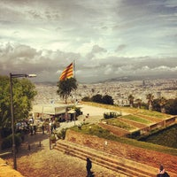 Photo taken at Castillo de Montjuic by Ivankevich on 5/27/2013