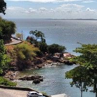 Photo taken at Ladeira da Barra by Felipe on 2/18/2013