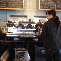 Photo taken at Cups, an Espresso Café by Lici B. on 3/24/2013