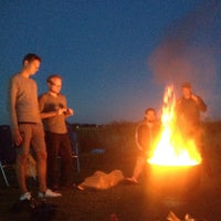 Photo taken at Camping Amstelkade by Erwin E. on 8/13/2015