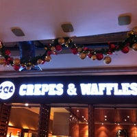 Photo taken at Crepes & Waffles by Ernesto G. on 12/30/2012