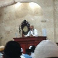 Photo taken at Masjid Al Qomar by Syafi' M. on 7/26/2013