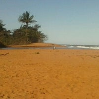 Photo taken at Praia do Sauê by Thamyris V. on 10/1/2012