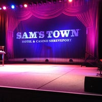 Photo taken at Sam's Town Shreveport Hotel & Casino by Lacy on 11/4/2012