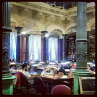Photo taken at Biblioteca Nacional Mariano Moreno by Yaneth H. on 1/30/2013