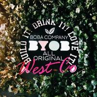 Photo taken at BYOB A Boba Company by Elizabeth X. on 4/9/2015