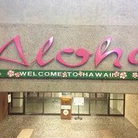 Photo taken at Honolulu International Airport (HNL) by Elisa on 5/24/2013