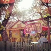 Photo taken at Hidden House Coffee by Joel Richard E. on 2/17/2013
