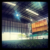 Photo taken at The Hattrick Football Club by Iso J. on 7/8/2013