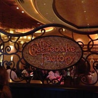 Photo taken at The Cheesecake Factory by Antonio on 3/27/2013
