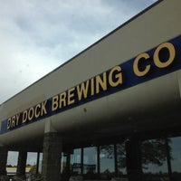 Photo taken at Dry Dock Brewing Company - South Dock by Jackson on 10/4/2012
