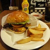 Photo taken at Sakura Burger by Sdeeplook on 4/30/2013