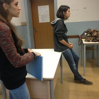Photo taken at Liceo Scientifico Marconi by Bianca on 10/11/2012