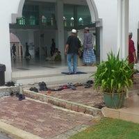Photo taken at Masjid Al-Hijrah by Ryo Y. on 12/14/2012