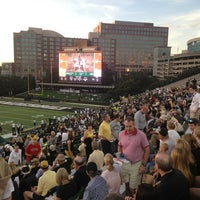 Photo taken at Vanderbilt Stadium - Dudley Field by Perry D. on 9/28/2013