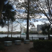 Photo taken at Relax Grill At Lake Eola by Michelle on 2/16/2013