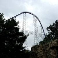 Photo taken at Millennium Force by Jeremy on 7/7/2013