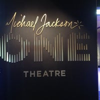 Photo taken at Michael Jackson ONE Theater by Roberto P. on 8/30/2013