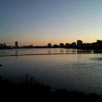 Photo taken at Lake Merritt by Kenneth M. on 4/17/2013