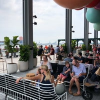 Photo taken at The Heineken River Lounge at Pier 17 by Evan Z. on 7/4/2018