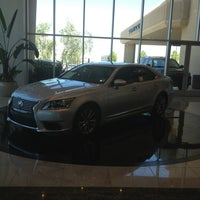 Photo taken at Lexus of Henderson by Todd B. on 8/16/2013