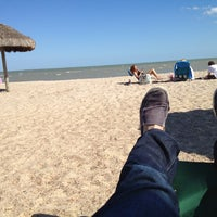 Photo taken at Lighthouse Beach And Bird Sanctuary by Daniel G. on 3/14/2013