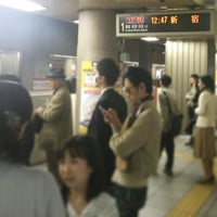 Photo taken at Marunouchi Line Otemachi Station (M18) by @skamio S. on 4/4/2013