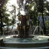 Снимок сделан в Летний сад пользователем Dmitriy 6/15/2013