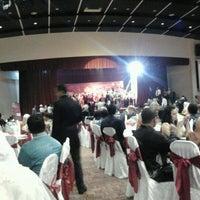 Photo taken at Dewan Banquet UPM by Cicely N. on 10/30/2012