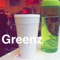 Photo taken at Greenz by Yahdiel O. on 3/22/2014
