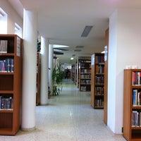 Photo taken at Knihovna Karla Dvořáčka by Tombo on 1/30/2013
