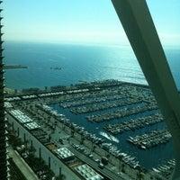 Photo taken at Hotel Arts Barcelona by Elena on 6/6/2013