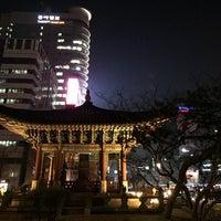 Photo taken at 고종 즉위 40년 칭경기념비 by Soo Hyeong L. on 12/24/2013