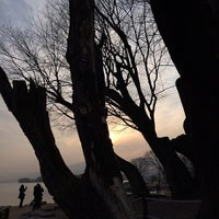 Photo taken at 두물머리 나룻터 옛터 by Soo Hyeong L. on 1/10/2014