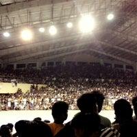 Photo taken at Binalonan Gymnasium by Justin B. on 5/29/2014