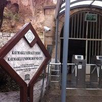 11/25/2012 tarihinde Enes B.ziyaretçi tarafından Kaymaklı Yeraltı Şehri'de çekilen fotoğraf