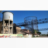 Photo taken at Gazometro by Eleonora D. on 4/21/2015
