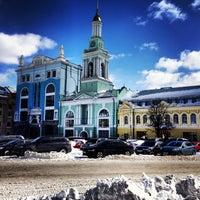 Снимок сделан в Контрактовая площадь пользователем Alisha P. 3/25/2013