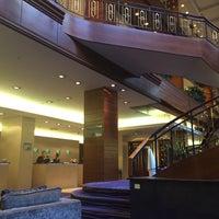 Photo taken at Renaissance Zurich Hotel by Natalia G. on 3/10/2014