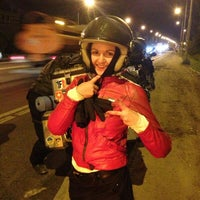 Photo taken at Мост через Оку на трассе М5 by Polina P. on 8/21/2013