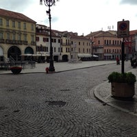 Photo taken at Piazza Vittorio Emanuele II by Khaled K. on 8/25/2013