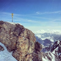 Photo taken at Zugspitze (2962m) by Dima S. on 6/16/2013