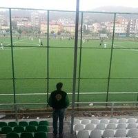 Photo taken at Eynesil İlçe Stadı by Özer I. on 10/20/2013