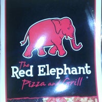 Photo taken at Red Elephant Pizza and Grille by Jeff B. on 3/8/2013