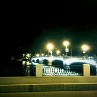 Photo taken at Ушаковский мост by Denis C. on 9/19/2012