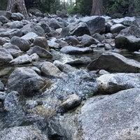 Photo taken at Lower Yosemite Falls by Jinzhen F. on 7/2/2017