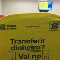 Photo taken at Banco do Brasil by Rafael R. on 3/9/2018